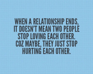 Stop Hurting Each Other - Relationship Quote