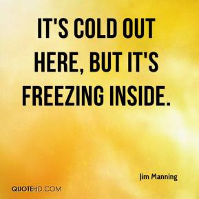 Freezing Quotes