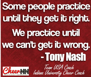 Cheer Coach Spotlight – Tony Nash