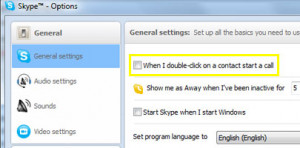 Click on Tools>Options>General Settings. At the very top, uncheck the ...