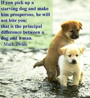 Of Dogs and People - Beautiful Quotes!