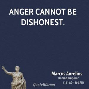 Marcus Aurelius Anger Quotes