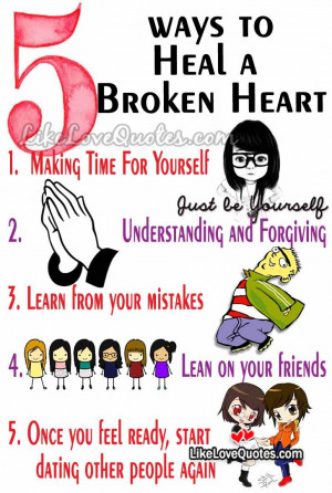 ways to Heal a Broken Heart