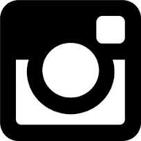 Black and White Instagram Logo Vector