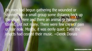 Favorite Derek Donais Quotes