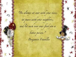 Happy New Year 2013 Quotes