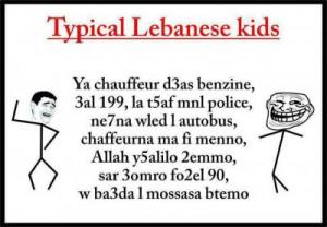 rude lebanese kids e1332800110107 La Wlooo!!!...Ten Things I Hate ...