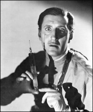 Basil Rathbone.
