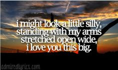 Scotty McCreery Quotes From Songs | Love You This Big Scotty... More