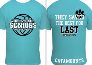 Senior Volleyball T-shirts