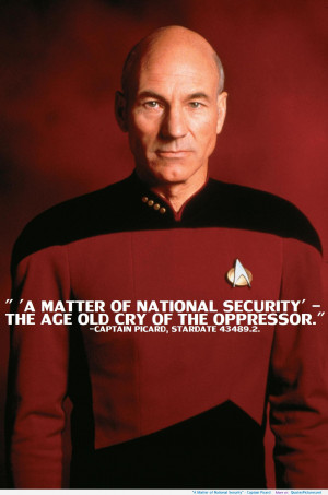 """"""" – Captain Picard motivational inspirational love life quotes ..."""