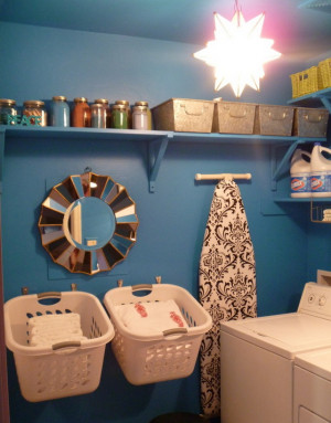 11 Creative and Clever Laundry Storage Ideas for Small Spaces Would be ...