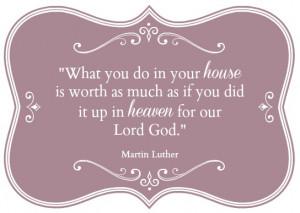 How to Glorify God through Housework