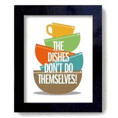 Dishes Colorful Kitchen Decor Julia Child. $16.00, via Etsy. Wash Dish ...