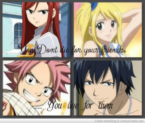 Fairy Tail Funny Quotes