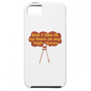 High Horse iPhone 5 Covers