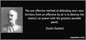 ... air is to destroy the enemy's air power with the greatest possible