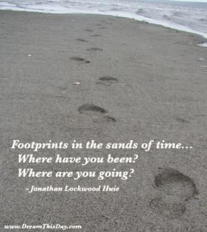 Footprints Quotes