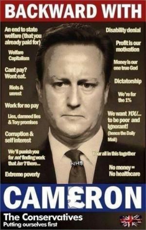 David Cameron: The Devil's PR Man / The Butcher of Britain
