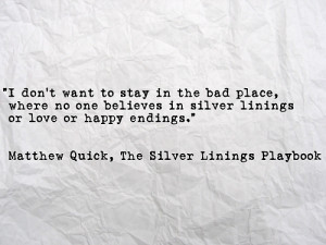 Silver Linings Playbook Quotes