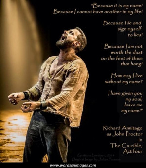 Quotes in the crucible