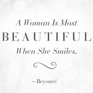 beautiful #quote #beyonce #smile #hair