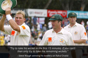 ... quotes on Rahul Dravid - The ideal team man - Slide 10 of 10:Steve