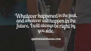 By Your Side Quotes