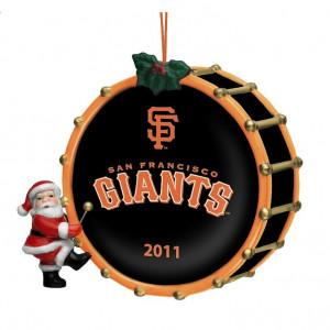 San Francisco Giants - Christmas Ornament The Danbury Mint 2011 Annual