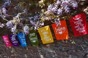 rainbow fairylove prayer flags these gorgeous fairylove prayer flags ...