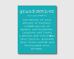Grandma Mag Grandmother...