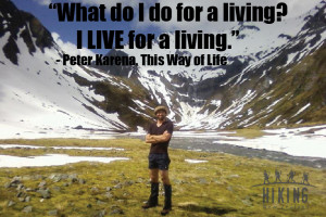 This is an image of one of the Hiking New Zealand owners, Daniel ...