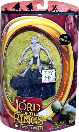 Lord of the Rings Two Towers Action Figure Gollum