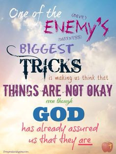 ... taken care of ♥ Click through for more Bible verses about anxiety