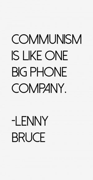 Lenny Bruce Quotes & Sayings