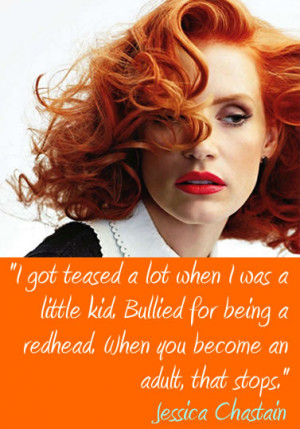 famous redhead quotes