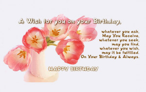 belated birthday sayings Your search for Belated Birthday Verses Poems ...