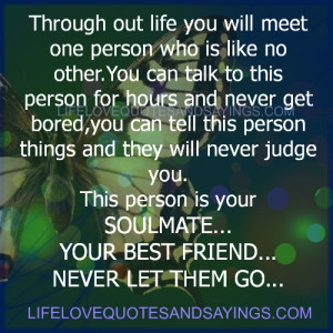 this person is your soulmate..