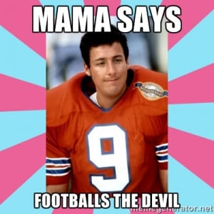 Go Back gt Gallery For gt Waterboy Meme The Devil
