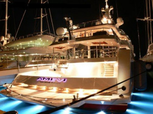Lakshmi Mittal's deluxe yacht, Amevi