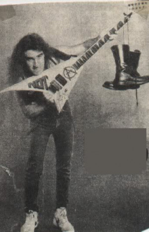Anthrax's Scott Ian Jackson Randy Rhoads V Picture
