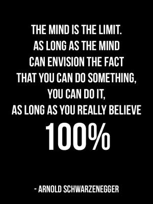 Motivational Bodybuilding Quote from Arnold Schwarzenegger Numero 3: