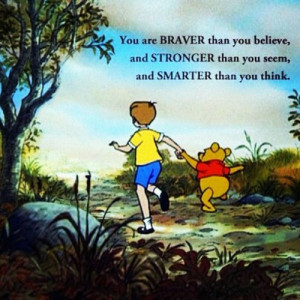 Quotes #WinnieThePooh #Cute #LockScreen #ChildHood (Taken with ...