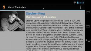 Stephen King - King Of Horror - screenshot