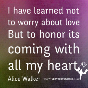 Inspirational Quotes About Not Worrying
