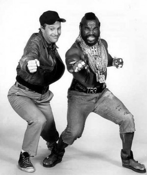 Down with the A-Team, Mr-T and Murdock