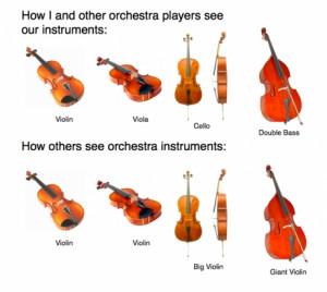 Orchestra Instruments, violin