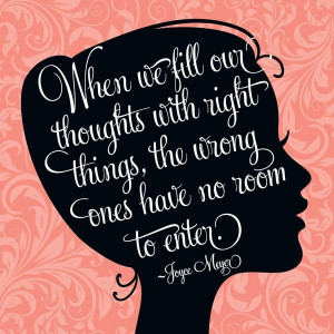 Right Thoughts