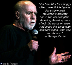 George carlin, quotes, sayings, america, famous