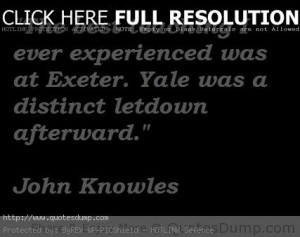 john knowles picture Quotes 4